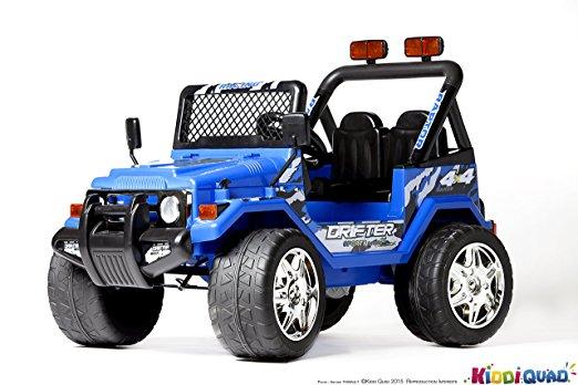 4×4 électrique enfant Jeep deux places