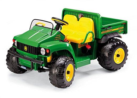 tracteur électrique deux places pour enfant