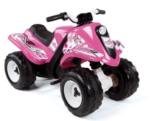 quad électrique rose pour enfant