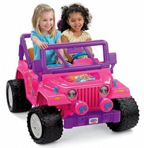 voiture électrique enfant rose