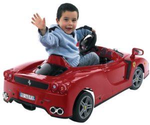 voiture enfant électrique ferrari