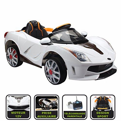 voiture enfant Cristom McLaren télécommande parentale