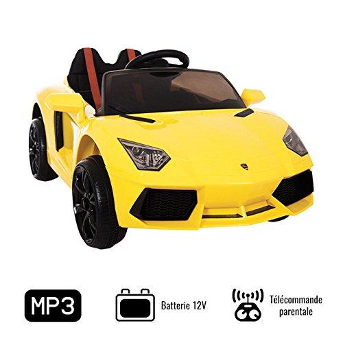 Lambo électrique jaune