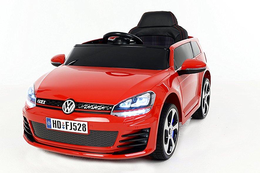 Volkswagen Golf GTI rouge pour enfant