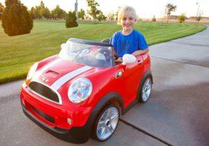 voiture électrique enfant mini